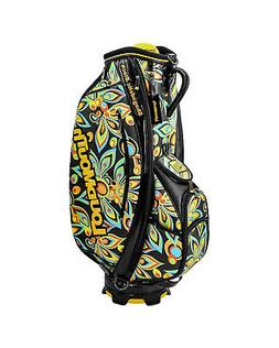 NEW LoudMouth Shagadelic Black 9 Inch Staff Golf Bag