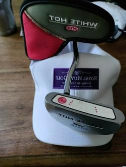 """Nice! Odyssey White Hot Rossie XG Putter 35"""" w/Cover! Needs"""