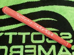 RARE SCOTTY CAMERON/TITLEIST DANCING RED FULL CORD PUTTER GR