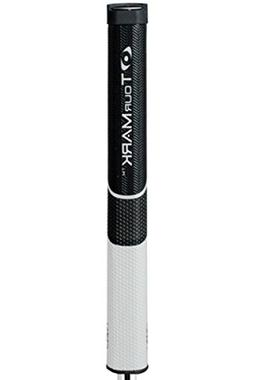 TourMark RD5 Reverse Dimple Putter Grip, Black