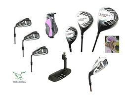 AGXGOLF Girls Right Hand Magnum Edition Golf Club Set w460cc