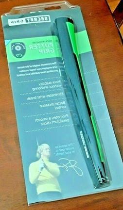 NEW Boccieri Secret BACK WEIGHTED Putter Grip - Black/Green