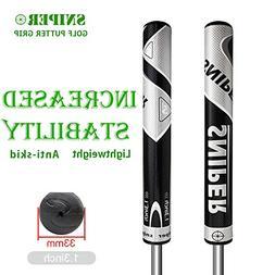 morovan Sniper Golf Clubs Grips PU Golf Putter Grips Size 1.