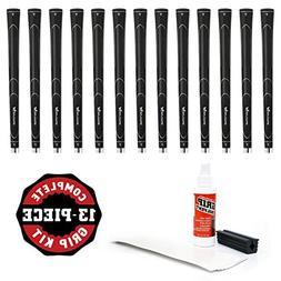 Karma Super Light Grip Midsize Grip Kit , Black
