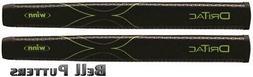 Two  Winn Dri-Tac Lite Jumbo Black Pistol Golf Putter Grip-M