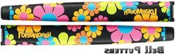 Two  Loudmouth Magic Bus Oversize/Jumbo Golf Paddle Putter G