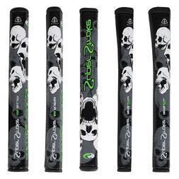 SuperStroke Unisex Skull Edition Putter Grip - Grey/Green -