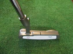 ODYSSEY WHITE HOT PRO 1 PUTTER, 35 INS. ODYSSEY GRIP AND PUT
