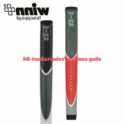 WINN Excel Jumbo Lite Pistol Putter Grip Gray/Red BLACK/GRAY