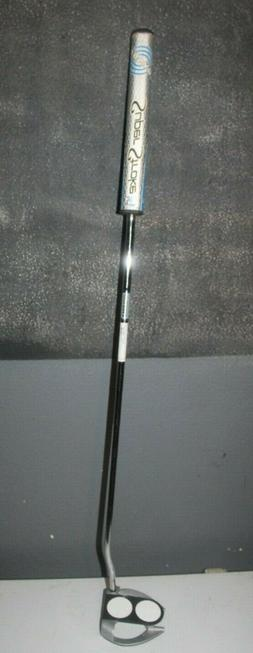 """Odyssey Works 2 Ball Fang Tank Putter, 35"""" with Odyssey Su"""