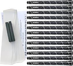 Lamkin Wrap-Tech White Trim Standard Golf Grip Kit